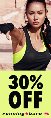 Running Bare 30% Off