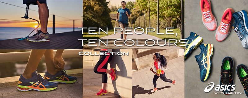 Asics Ten People, Ten Colours Collection