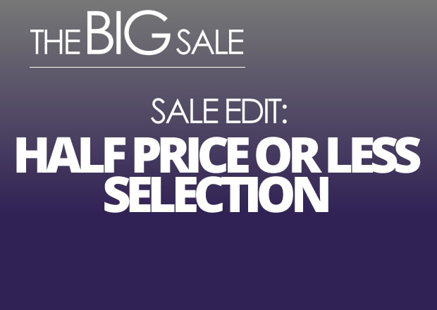 Sale Edit: Half Price Or Less