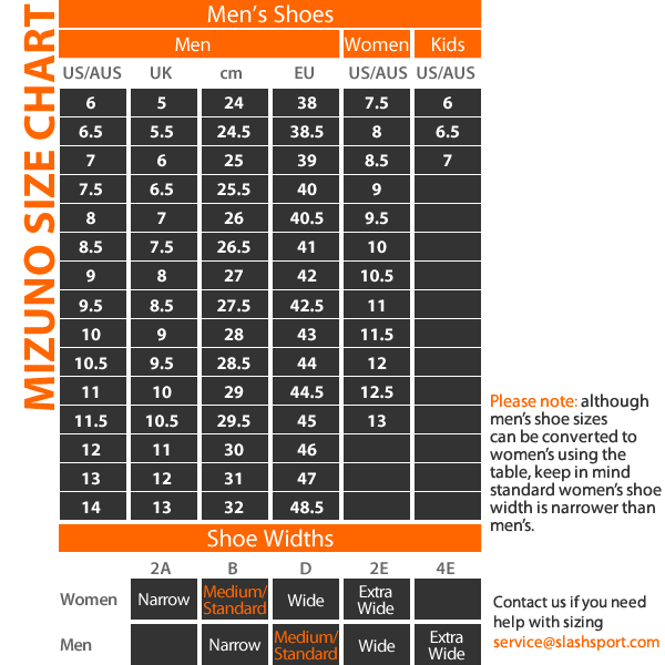 mizuno shoe size chart youth t shirts