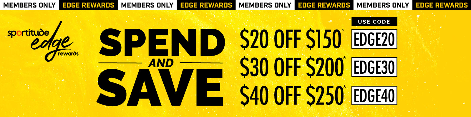 Edge Rewards Spend & Save