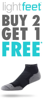 Lightfeet Socks - Buy 2 Get 1 Free