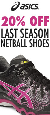 20% off Last Season Netball Shoes