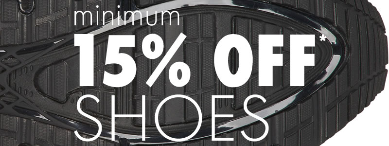 Minimum 15% Off Shoes
