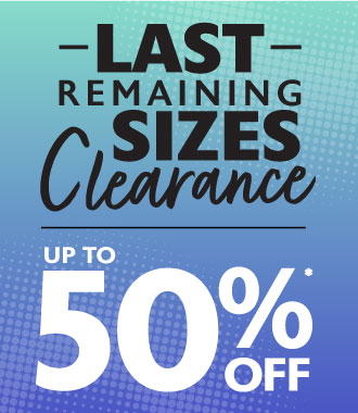 Last Remaining Sizes Clearance