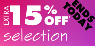 Extra 15% Off Selection