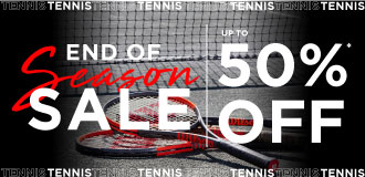 Tennis End Of Season Sale