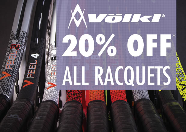 20% Off Volkl Tennis Racquets