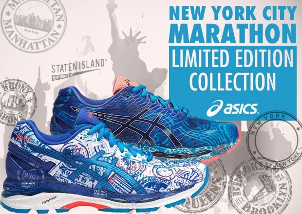 Asics NYC Marathon 2016 Limited Edition Collection