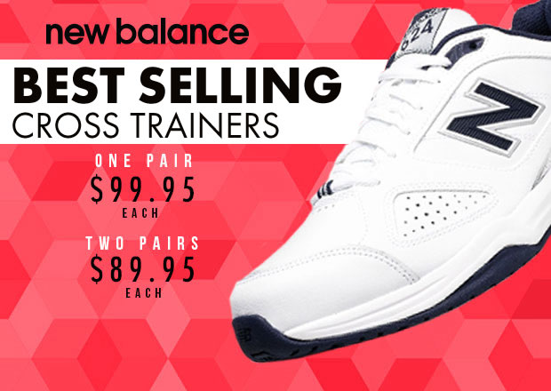 New Balance Best Selling Cross Trainers